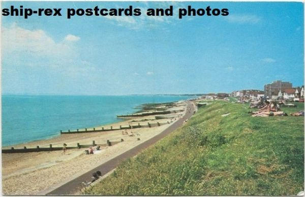 Lee-On-Solent (Hampshire) the sea front, postcard